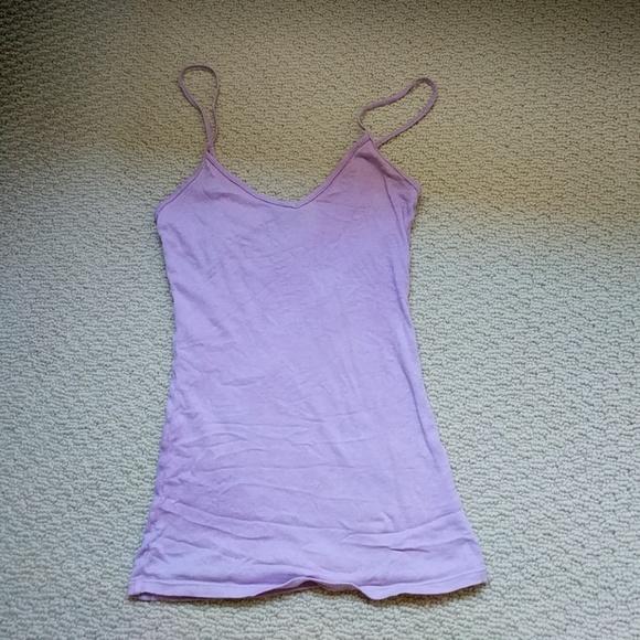482a2dd2d0f5c Aritzia Tops - Aritzia lavender pastel purple tank top
